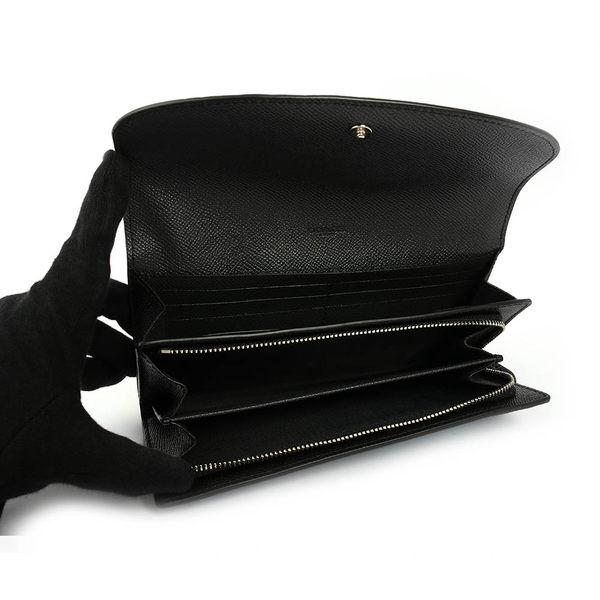 【COACH】PVC LOGO口袋二折長夾禮盒(金屬藍/粉藍)F22714 SVMWM