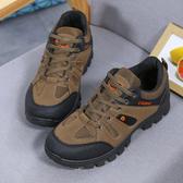登山鞋春季登山鞋戶外越野運動鞋英倫男休閒鞋防滑徒步鞋透氣旅遊鞋 童趣屋