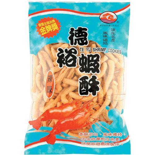 淡水德裕蝦酥-辣味150g【愛買】