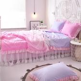 夏涼被 少女水洗棉夏被公主風蕾絲夏涼被空調被單雙人床裙被子