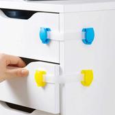 安全鎖抽屜鎖軟鎖-寶寶櫃門鎖長鎖1入-JoyBaby