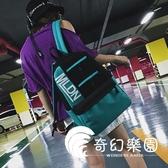 後背包  風書包女韓版原宿ulzzang高中大學生初中古著感少女潮牌雙肩包-奇幻樂園