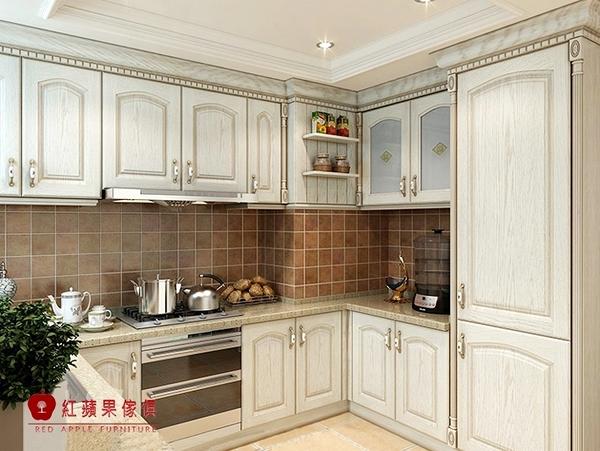 [紅蘋果傢俱] LC-07 全屋訂製 櫥櫃 系統櫃 大裡石櫥櫃 廚具 客制化產品