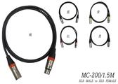 凱傑樂器 STANDER MC-200/3M  3公尺 下標處 黑色 麥克風線 XLR