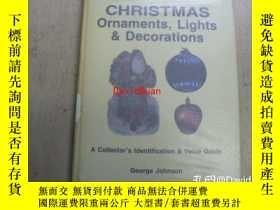 二手書博民逛書店Christmas罕見Ornaments, Lights and Decorations: A Collector