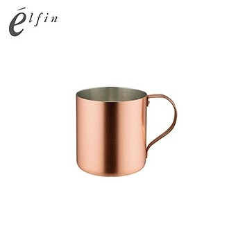 日本高桑elfin 冰咖啡杯-銅