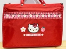 【震撼精品百貨】凱蒂貓_Hello Kitty~日本SANRIO三麗鷗 KITTY 手提包/側背包-草莓紅#61535