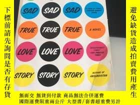 二手書博民逛書店super罕見sad true love storyY280165