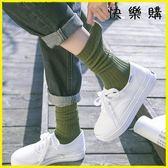 堆堆襪 堆堆襪百搭韓版學院風中筒襪長襪