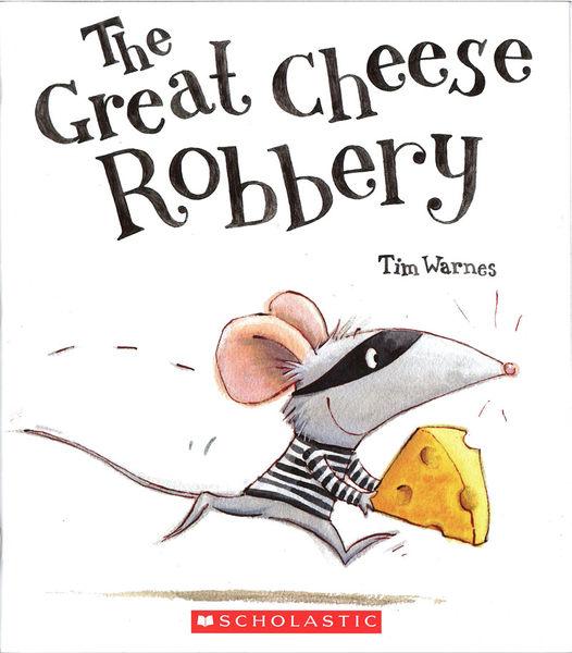 【麥克書店】THE GREAT CHEESE ROBBERY/ 英文繪本《主題:自我認同 Respect Yourself 》
