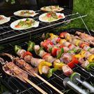 野外燒烤爐戶外折疊便攜式碳烤搪瓷肉爐子全...