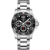 LONGINES 浪琴 深海征服者陶瓷潛水計時機械錶-41mm L37834566