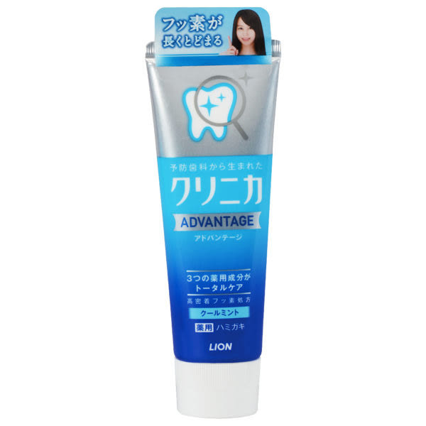 LION獅王 固力寧佳全效淨護牙膏 清涼薄荷 130g (購潮8) 4903301205678