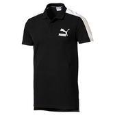 Puma 男 黑 Polo衫 短袖 運動襯衫 短袖 短T 高爾夫 排汗 透氣 短袖 上衣 57626901