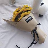向日葵香皂花束干花滿天星禮盒 閨蜜生日禮物情人節畢業禮物『艾莎嚴選』