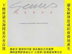 二手書博民逛書店GENUS罕見2004年7-12月 70週年(1934-2004