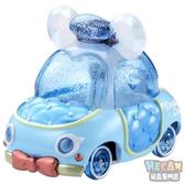 迪士尼夢幻珠寶盒小汽車 粉鑽蝴蝶結小車 唐老鴨 13434