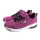 GP (Gold.Pigon) 阿亮代言 運動鞋 女鞋 桃紫色 針織  P5786W-45 no154