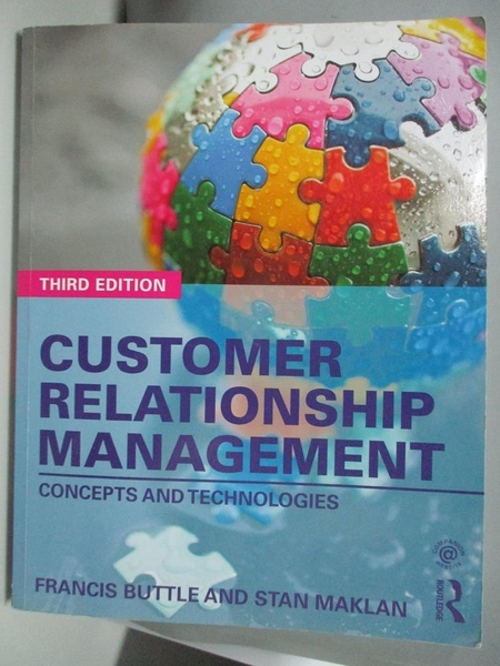 【書寶二手書T1/大學商學_DJC】Customer Relationship...-Concepts and..._Buttle