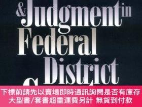 二手書博民逛書店Politics罕見And Judgment In Federal District CourtsY25517
