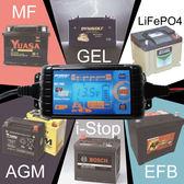 全電壓MT700多功能智慧型微電腦充電+檢測器 (6V / 12V) 適合汽車機車充電電池電瓶