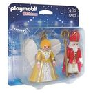 特價 playmobil 聖誕系列 聖尼古拉斯和聖誕天使_PM05592