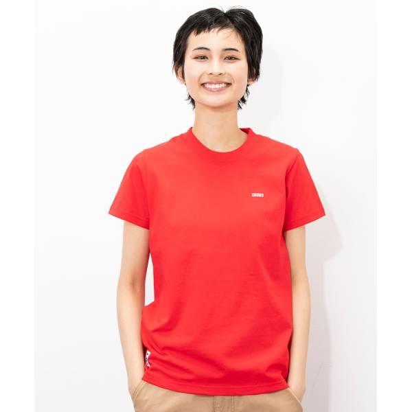 CHUMS Booby Logo T-Shirt 短袖T恤 紅 CH111326R009【GO WILD】