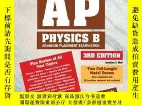 二手書博民逛書店How罕見To Prepare For The Ap Physics B (barron s How To Pre