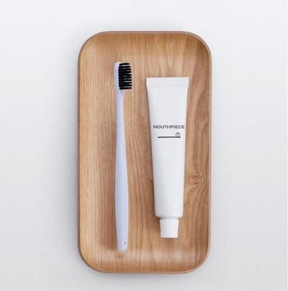 MUJI無印良品 家庭裝 竹炭毛 超軟牙刷 水晶盒裝一組 4只
