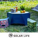 日本PATATTO 可攜式輕量薄型露營摺疊桌(小) 附收納袋.PATATTO桌 露營桌野餐桌 日本桌輕量桌
