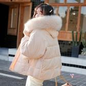 燈芯絨外套 燈芯絨面包棉服女2019冬季新款韓版oversize棉衣短款加厚棉襖外套S-XL碼 2色
