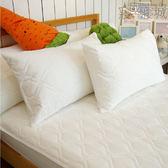 保潔枕頭套 - 白色信封式(1入) [奈米防潑水 可機洗 另有藍色] 台灣製