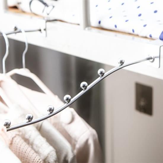 ✭米菈生活館✭【P201】床邊掛衣勾(中) 陳列架學生 工具 上鋪床頭 掛衣架 收納架 居家 電鍍