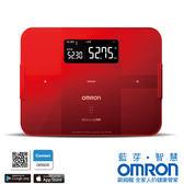 歐姆龍HBF-254C紅藍芽智慧體重體脂計(另售HBF-701)+熊本熊不鏽鋼保溫便當盒