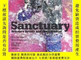 二手書博民逛書店Sanctuary:罕見Britain s Artists and their SY237948 Hossei