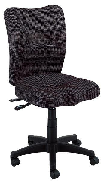 【森可家居】氣壓升降無段傾仰鎖定椅 7JX288-4