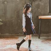 女童連衣裙秋裝2018新款小女孩童裝長袖秋季公主裙兒童超洋氣裙子