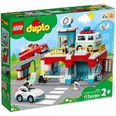 樂高積木 LEGO《 LT10948》Duplo 得寶系列 - 停車場與洗車場 / JOYBUS玩具百貨