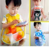 韓國moimoln 大尺寸防水圍兜 13款可挑 雙層防水 可愛圖案 吃飯兜 口水巾 防水圍兜