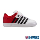 K-SWISS Classic VN VLC時尚運動鞋-童-白/紅/黑