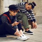 真皮休閒鞋,懶人鞋,小白鞋,台灣製造,女...