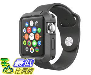 [105美國直購] 蘋果錶殼 Apple Watch Case - Poetic [Turtle Skin Series] Apple Watch 42mm Case B00V2LY4BC