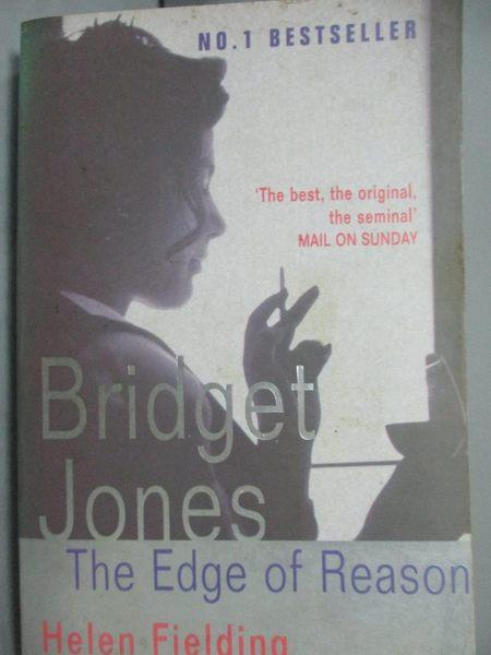 【書寶二手書T6/原文小說_JDT】Bridget Jone s:The edge of Reason_HELENFL