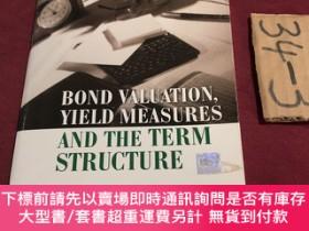 二手書博民逛書店bond罕見valuation yield measures and the term structureY2