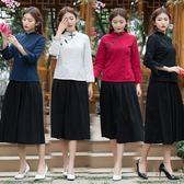 旗袍洋裝   春夏新款民族風復古盤扣短款修身棉麻立領  AB1446 【3C環球數位館】