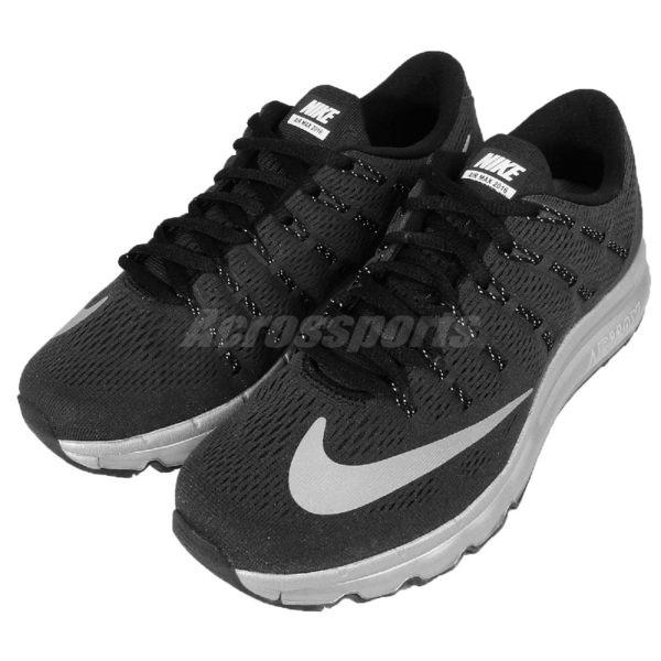 【四折特賣】Nike 慢跑鞋 Wmns Air Max 2016 PRM 黑 銀 反光 全氣墊 女鞋 運動鞋 【PUMP306】 810886-001