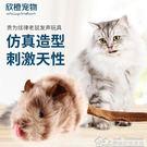 貴為炫律獵物老鼠髪聲玩具貓咪玩具英短折耳...