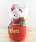 【震撼精品百貨】Hello Kitty 凱蒂貓~聖誕靴子擺飾-KITTY造型-紅站姿-M
