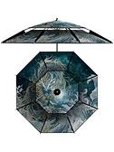 十二生肖釣魚傘大釣傘防爆雨2.2加厚2.4米萬向防曬大傘遮陽LX 童趣屋 免運