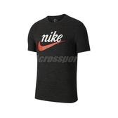 Nike 短袖T恤 NSW Heritage Tee 黑 紅 男款 基本款 運動休閒 【ACS】 CK2382-010